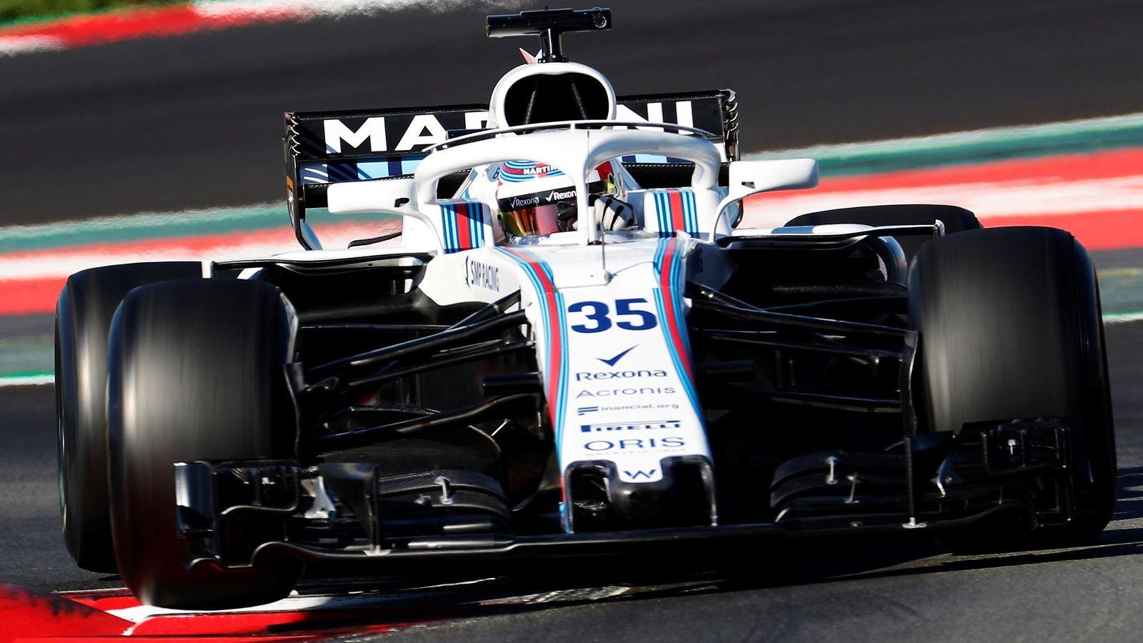 F1 Sarjataulukko