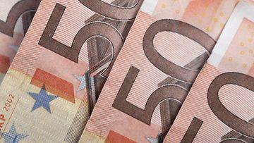 AOP käteinen raha rahat setelit lomakko 50 euro 1.03714439