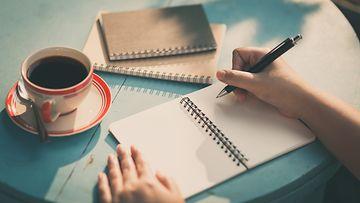 muistikirja, kynä