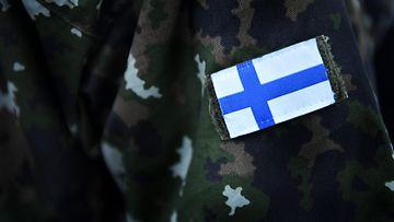 AOP varusmies puolustusvoimat armeija rynnäkkökivääri 7.08892734