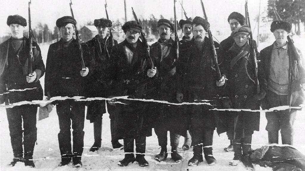 Sisällissota jakoi maan pohjoiseen, etelään, maaseutuun ja teollisuus-Suomeen – yksi paikkakunta ...