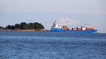 AOP rahtilaiva Suomenlahti