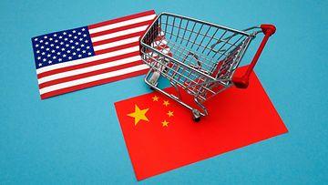 AOP Kiina Yhdysvallat tullit tuontitullit kauppasota 16.2.82578947