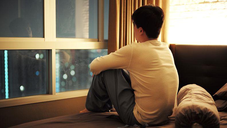 yksinäinen mies