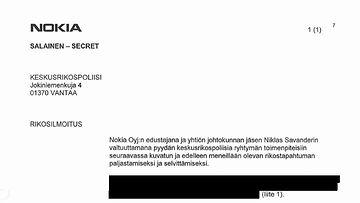 Nokia-rikosilmoitus