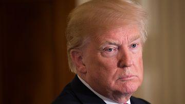 EPA Donald Trump yrmeä ilme