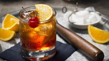 old fashioned drinkki
