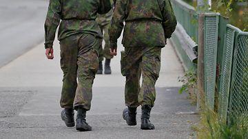 Sota armeija varusmies 1