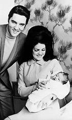 Elvis Priscilla Lisa Marie Presley