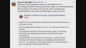 Venäjä suurlähetystö USA