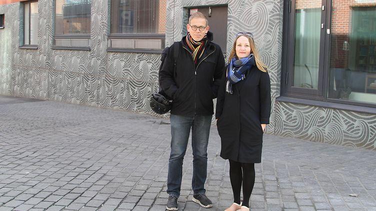 Kimmo Rönkä ja Outi Säntti