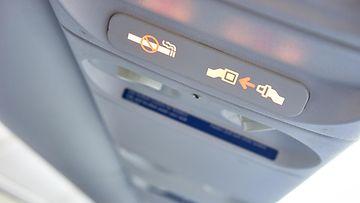 turvavyön merkkivalo lentokone