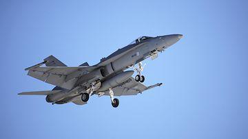 AOP Hornet F-18 ilmavoimat Tampere-Pirkkala