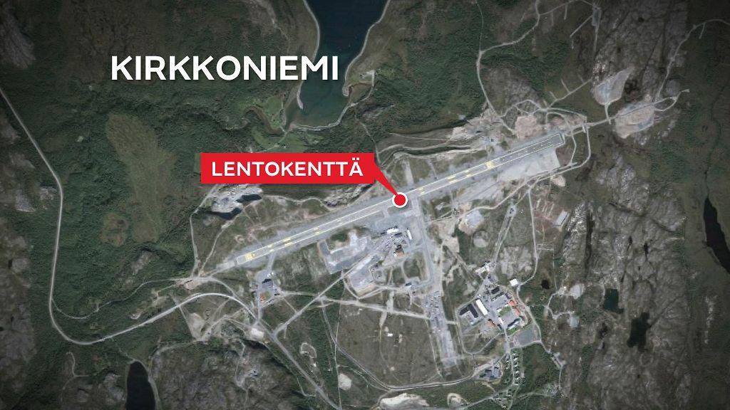 Hairitsiko Venaja Lentoliikennetta Norjassa Laskeutumassa Ollut