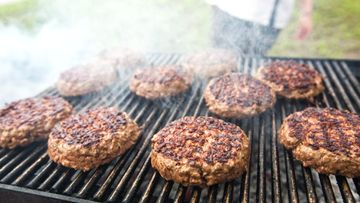 hampurilainen grilli grillaus