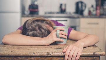 väsynyt väsymys