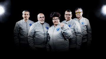 Suomen e-peli-seniorijoukkue Grey Gunners