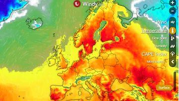 Eurooppa Sääkartta