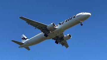 lentokone, ilmassa, lentäminen