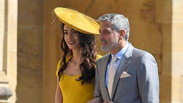 George ja Amal Clooney PYSTY