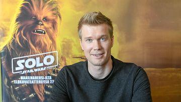 Joonas Suotamo (Tähtien sodan Chewbacca) Helsingissä 7.5.2018 1