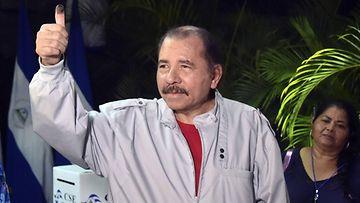 AOP Daniel Ortega presidentti Nicaragua