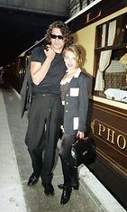 Kylie Minogue ja Michael Hutchence 1990