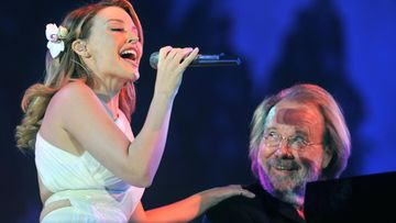 Kylie Minogue ja Benny Andersson 2009