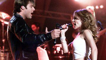 Kylie Minogue ja Ricky Martin 2000