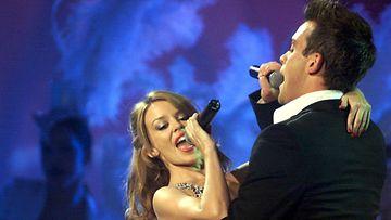 Kylie Minogue ja Robbie Williams 2000