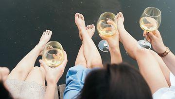 viini laituri kesä