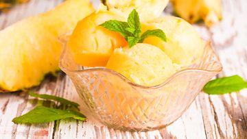 jäätelö ananas