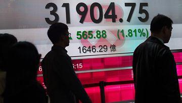 EPA Tokio Pörssi pörssikurssit osakkeet h_54014017