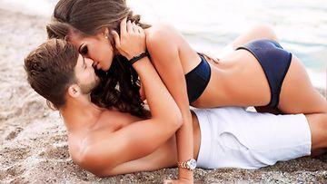 seksiä rannalla