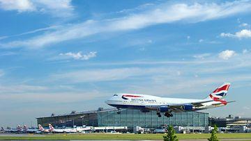 AOP Heathrow lentokenttä
