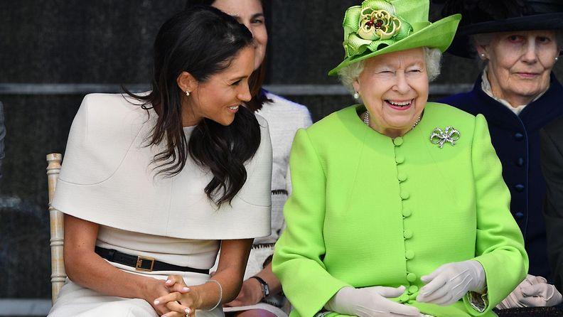 herttuatar meghan ja kuningatar elisabet