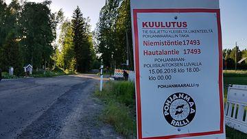 SM-ralli, Pohjanmaa-ralli, 2018, onnettomuus, Seinäjoki, kuvitusta (2)