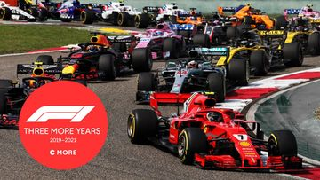 F1 three more years
