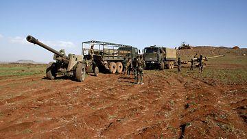 AOP Syyria sota Daraa hallituksen joukkoja
