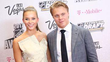 Emmi Kainulainen ja Mikael Granlund 22.6.2017