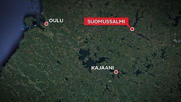 suomussalmi-kartta