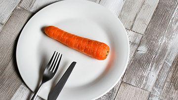 porkkana lautanen