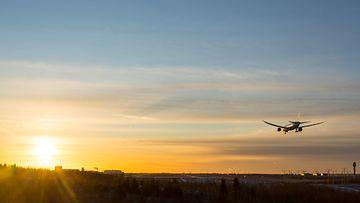 Lentokone matkailu loma