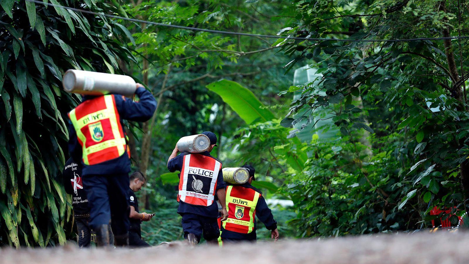 Thaimaa Pelastusoperaatio