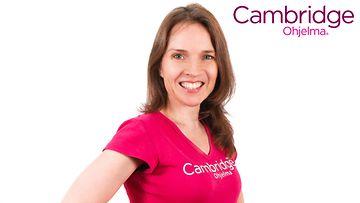 Cambridge Valmentaja Leena Niittynen.