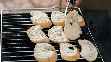 leipä, grilli