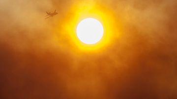 AOP, aurinko Kalifornia, USA