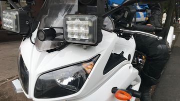 poliisi moottoripyöräpoliisi