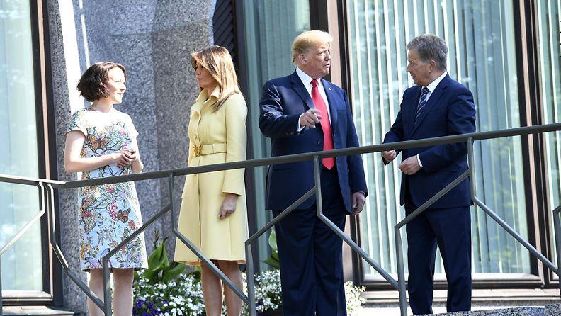 Niinistöt ja Trumpit