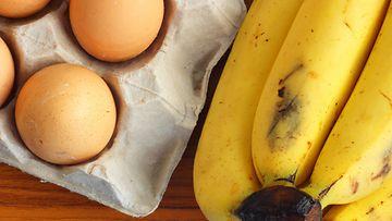 kananmunat banaani